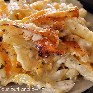 Creamy Cheesy Potatoes.