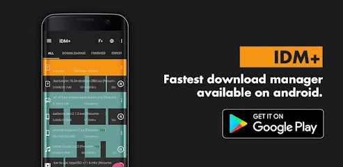 دانلود برنامه IDM+: Fastest Music, Video, Torrent Downloader