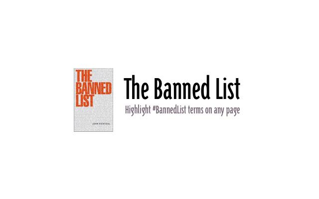 #BannedList Highlighter