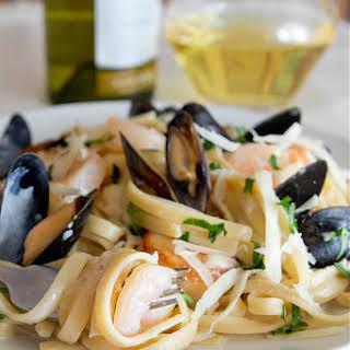Seafood Fettuccine.