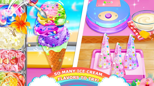 Code Triche Unicorn Chef: Summer Ice Foods - Cooking Games APK MOD screenshots 4