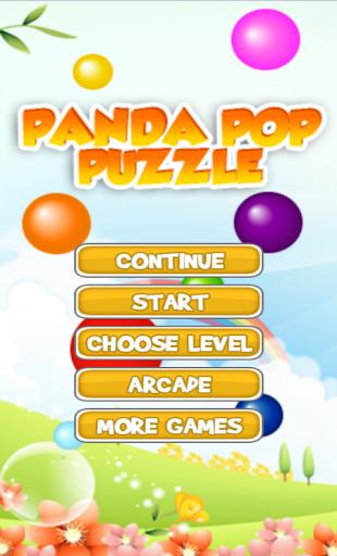 Panda Pop Puzzle