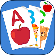 ABC Flash Cards Game for Kids & Adults