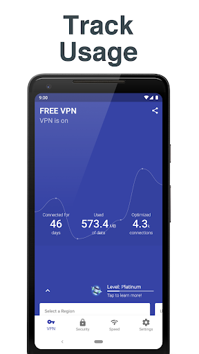 Free and Unlimited VPN - Safe, Secure, Private! 6.3.1003 screenshots 1