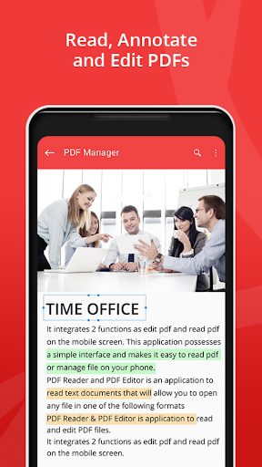 PDF Reader - PDF Manager, Editor & Converter Business app for Android Preview 1