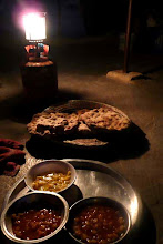 Photo: simple, amazing food, from Hajja Sara,  Susiya, southern Palestine