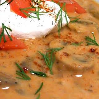 Geneva's Ultimate Hungarian Mushroom Soup.