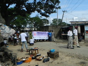 Photo: Procession into communityhttp://koru.or.ke