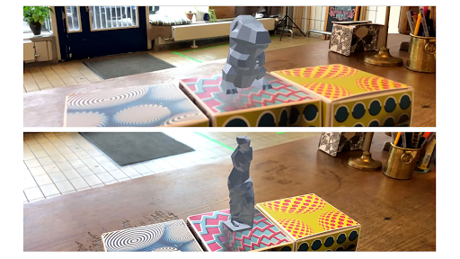 Visualizing 3D Prints in AR preview