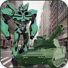 Urban Tank Robot Warrior - Real Robot Tank icon