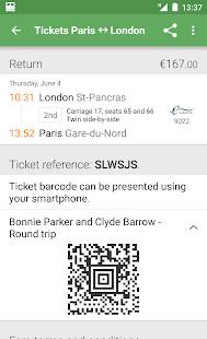 Capitaine Train: train tickets - screenshot thumbnail