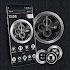 Black Analog Clock Launcher Theme 2019