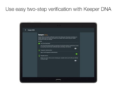 Keeper: Free Password Manager & Secure Vault- screenshot thumbnail