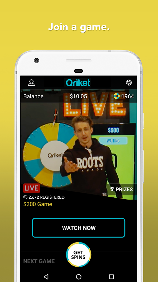Qriket- screenshot