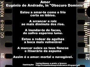 Photo: Amor, Eugénio de Andrade