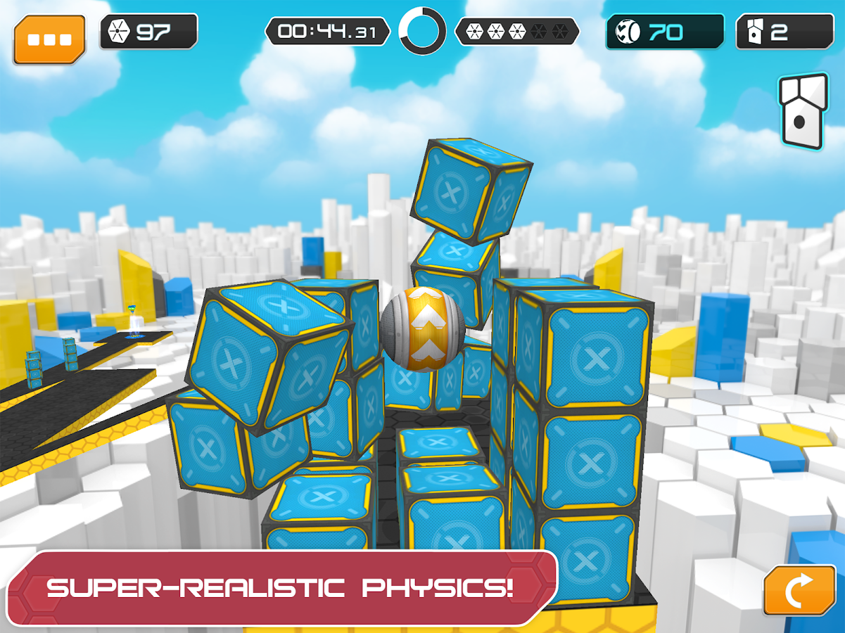 GyroSphere Trials- screenshot