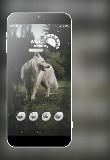 Download Grayish White Icons Pack MOD APK 1