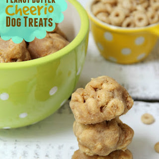 Homemade Peanut Butter Cheerio Dog Treats