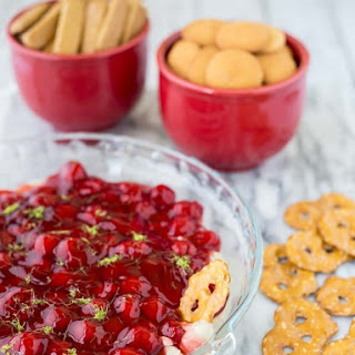 Cherry Cheesecake Dip with Lime (ready in 10 minutes!)