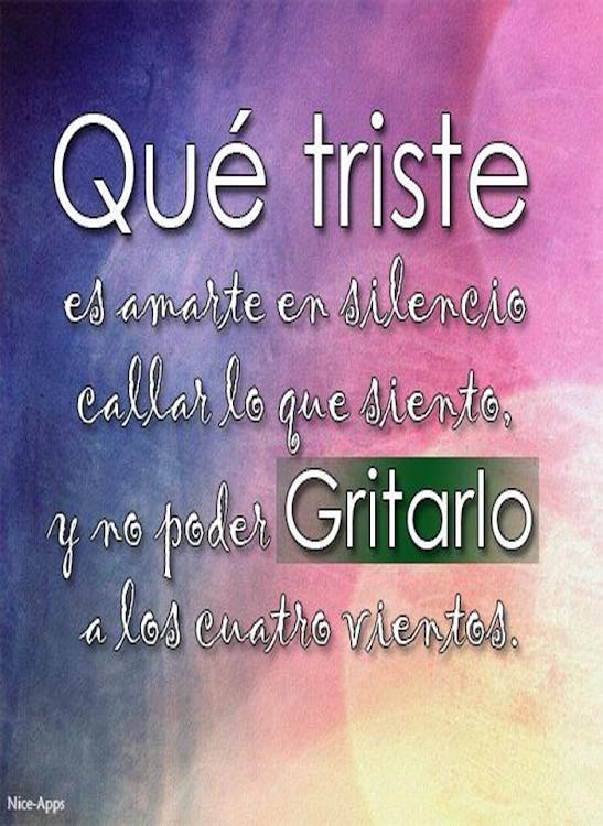 Frases Tristes De Amor Android приложения Appagg