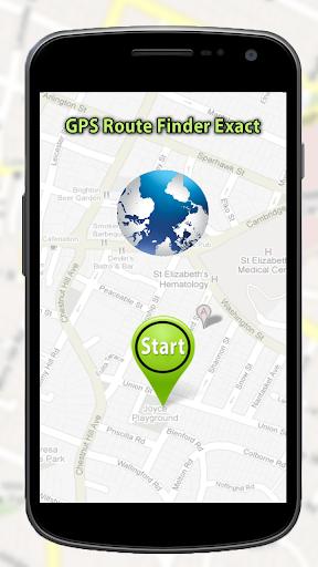 GPS路线查找,精确