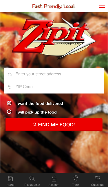 Zipit Delivery- screenshot