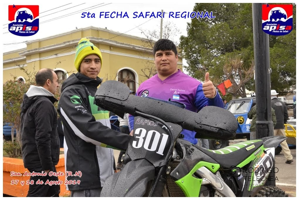 Dani Ramos cantó victoria en Motos Libres del Safari