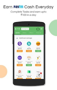 Get Wallet Cash & Recharge- screenshot thumbnail