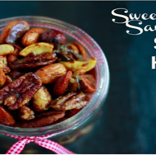 Savory Sweet Spiced Holiday Nuts