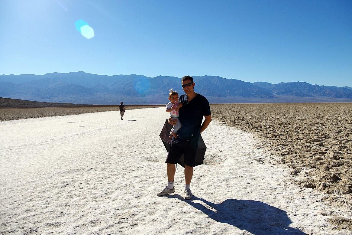 Valle de la Muerte; Cuenca Badwater