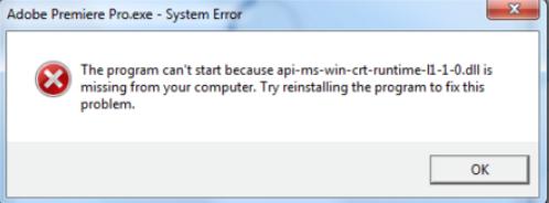 API-Ms-Win-Crt-Runtime-l1-1-0