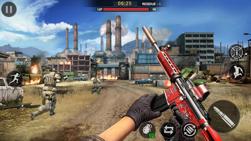 Commando Action : PVP Team Battle - Free Game 1.1.2 screenshots 19