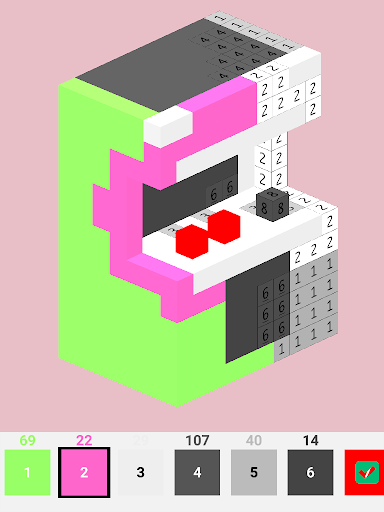 Voxelr - 3D Color by Number