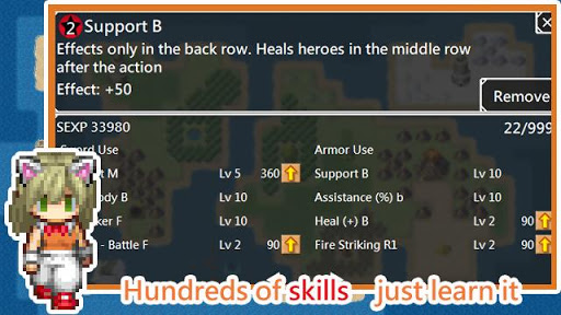 Unlimited Skills Hero - Strategy RPG screenshots 3