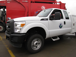Photo: Rogue Valley Sewer Servivces has a CNG Ford F350 in its utility fleet.