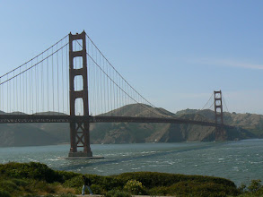 Photo: The Golden Gate Bridge, photographed from the Presidio
