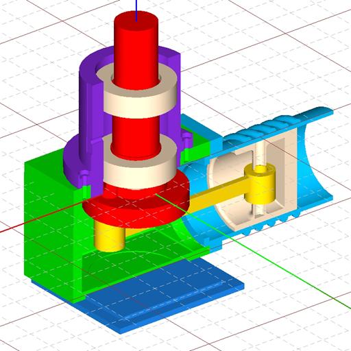 Baixar Free CAD 3D Modeling - Wuweido