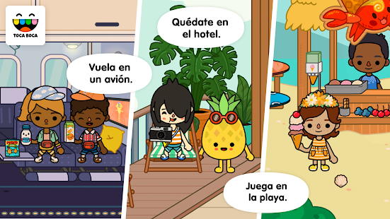 Toca Life: Vacation: miniatura de captura de pantalla