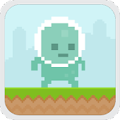 Pixel Alien Run