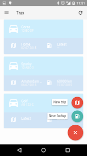 Trax - Trip & Fuel logging- screenshot thumbnail