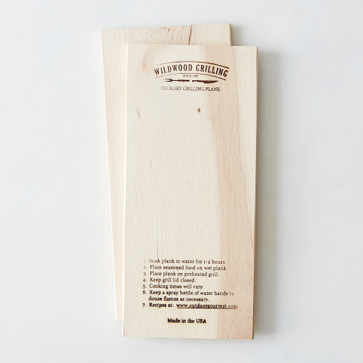 Smoked Wooden Grilling Planks (Pack of 2)