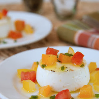 Savory Goat Cheese Panna Cotta