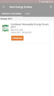 New Energy Events - náhled