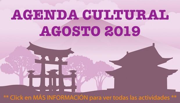 Agenda Cultural - Agosto 2019