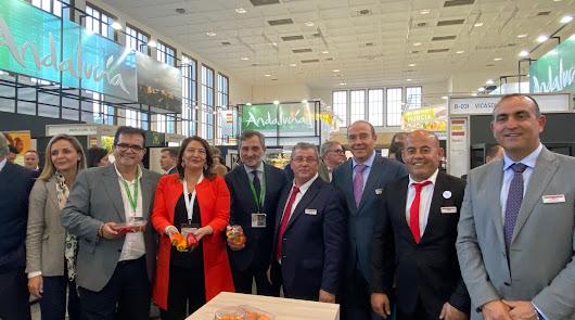 El invernadero almeriense brilla en Berlín con 21 empresas