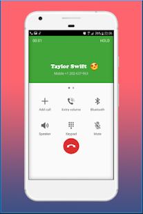 Call from Tayloг Swift - Prank - náhled