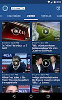 Screenshot of Cruzeiro SporTV