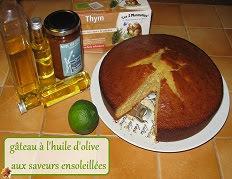 Gâteau à l'huile d'olive aux saveurs ensoleillées