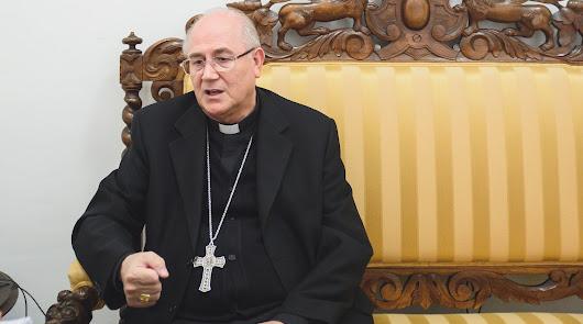 """El obispo ve """"manipulación sectaria"""" de la memoria histórica"""