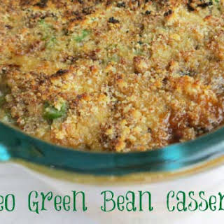 Paleo Green Bean Casserole.